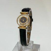 Chopard Happy Diamonds Yellow gold 22mm Black No numerals United States of America, California, Cerritos