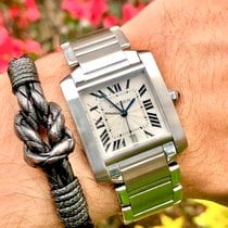 Cartier Tank Française Steel 28mm Silver Roman numerals United States of America, Florida, Pembroke Pines
