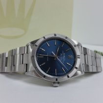 Rolex Air King Precision Steel 34mm Blue No numerals United States of America, California, Los Angeles