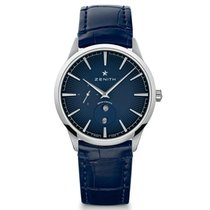 Zenith Steel Automatic Blue 40mm new Elite