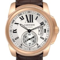 Cartier Calibre de Cartier Rose gold 42mm Silver Roman numerals United States of America, Georgia, Atlanta