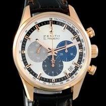Zenith El Primero Chronomaster neu Automatik Uhr mit Original-Box und Original-Papieren 18.2150.400