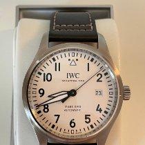 IWC Fliegeruhr Mark Stahl 40mm Silber Arabisch Schweiz, Zürich