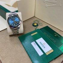 Rolex Milgauss Zeljezo 40mm Plav-modar