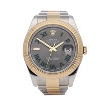 Rolex Datejust II Gold/Steel 41mm Grey Roman numerals United Kingdom, Bishop's Stortford