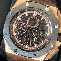 Audemars Piguet Royal Oak Offshore Chronograph Roségold 44mm Schwarz Keine Ziffern Deutschland, 68723 Schwetzingen