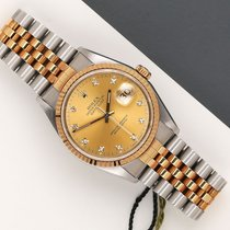Rolex Datejust 16233 Zeer goed Goud/Staal 36mm Automatisch Nederland, Maastricht