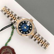 Rolex Lady-Datejust 69173 Bardzo dobry Złoto/Stal 26mm Automatyczny