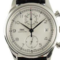 IWC Portuguese Chronograph Otel 42mm Argint