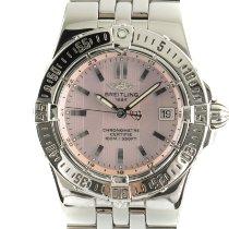 Breitling Damenuhr Starliner 30mm Quarz gebraucht Uhr mit Original-Papieren 2008