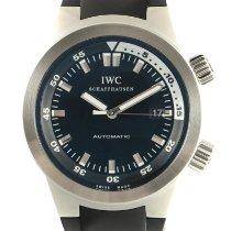 IWC Aquatimer Automatic Acero 42mm Negro