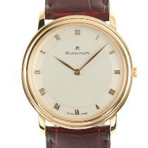 Blancpain Yellow gold Manual winding 33.5mm pre-owned Villeret Ultra-Slim