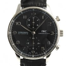 IWC Portuguese Chronograph Acero 41mm Negro