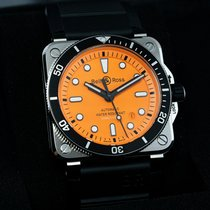 Bell & Ross BR 03-92 Steel Steel 42mm Orange United States of America, New Jersey, Englewood