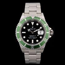 Rolex Submariner Date Acél 40mm Fekete Számjegyek nélkül