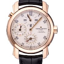 Vacheron Constantin Yellow gold Automatic Silver 38.5mm pre-owned Malte