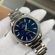 Omega Seamaster Aqua Terra Steel 42mm Blue No numerals