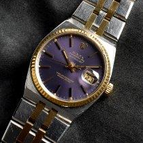 勞力士 Datejust Oysterquartz 鋼 紫色