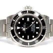 Rolex Sea-Dweller 4000 подержанные 40mm Черный Дата Сталь