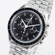 Omega Speedmaster Professional Moonwatch Stahl 42mm Schwarz Keine Ziffern Deutschland, Weißenhorn
