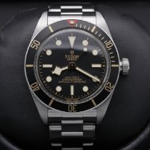 Tudor Steel Black 39mm pre-owned Black Bay Fifty-Eight