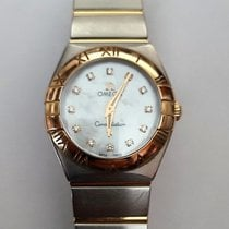 Omega Constellation Quartz pre-owned 24mm Mother of pearl Fold clasp