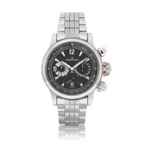 Jaeger-LeCoultre Master Compressor Chronograph Steel 42mm Black United States of America, New York, New York