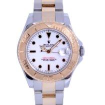 Rolex 168623 Goud/Staal 2008 Yacht-Master 35mm tweedehands