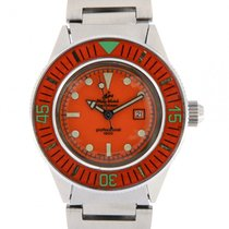 Philip Watch Caribe Steel 34mm Orange