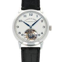 A. Lange & Söhne Platinum 39.5mm Manual winding 730.025 pre-owned United States of America, California, Beverly Hills
