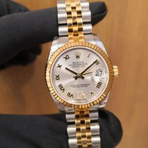 Rolex Lady-Datejust Gold/Steel 31mm White Malaysia