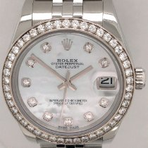 Rolex Lady-Datejust Steel 31mm Mother of pearl No numerals United States of America, New York, New York