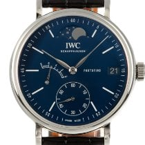 IWC Portofino Handaufzug Stahl 45mm Blau Deutschland, Karlsruhe