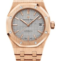 Audemars Piguet Royal Oak Selfwinding Pозовое золото 37mm Cерый Без цифр