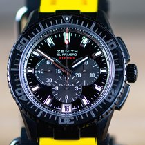 Zenith El Primero Stratos Flyback Ceramic 45.5mm Black No numerals United States of America, Texas, Fort Worth