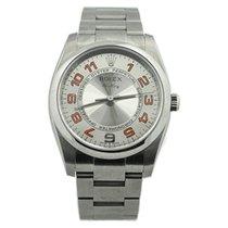 Rolex Air King Steel 34mm Silver Arabic numerals United States of America, California, Fullerton