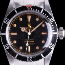 Rolex Submariner (No Date) Steel 38mm Black No numerals United States of America, California, Los Angeles