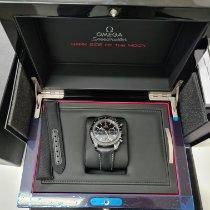 Omega Keramik Automatik Schwarz Keine Ziffern 44.2mm neu Speedmaster Professional Moonwatch