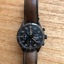 TAG Heuer Carrera Calibre 16 Titanium 43mm Black Arabic numerals Indonesia, Badung