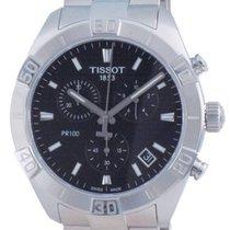 Tissot PR 100 Сталь 44mm Черный