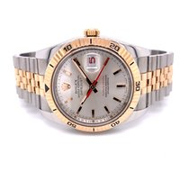 Rolex Datejust Turn-O-Graph pre-owned 36mm Silver Date Gold/Steel