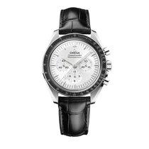 Omega Белое золото Механические Cеребро 42mm новые Speedmaster Professional Moonwatch