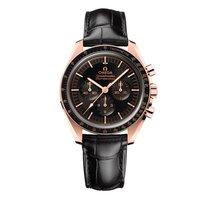 Omega Rose gold Manual winding Black 42mm new Speedmaster Professional Moonwatch