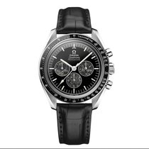 Omega Platinum Manual winding Black 42mm new Speedmaster Professional Moonwatch