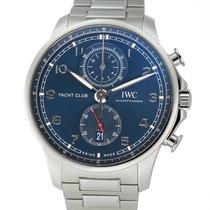 IWC Portuguese Yacht Club Chronograph Steel 45mm Blue Arabic numerals United States of America, New York, New York
