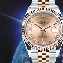 Rolex nieuw Automatisch 36mm Goud/Staal Saffierglas