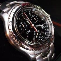 TAG Heuer Link Quartz nuevo 2009 Cuarzo Cronógrafo Reloj con estuche y documentos originales CT1111-0