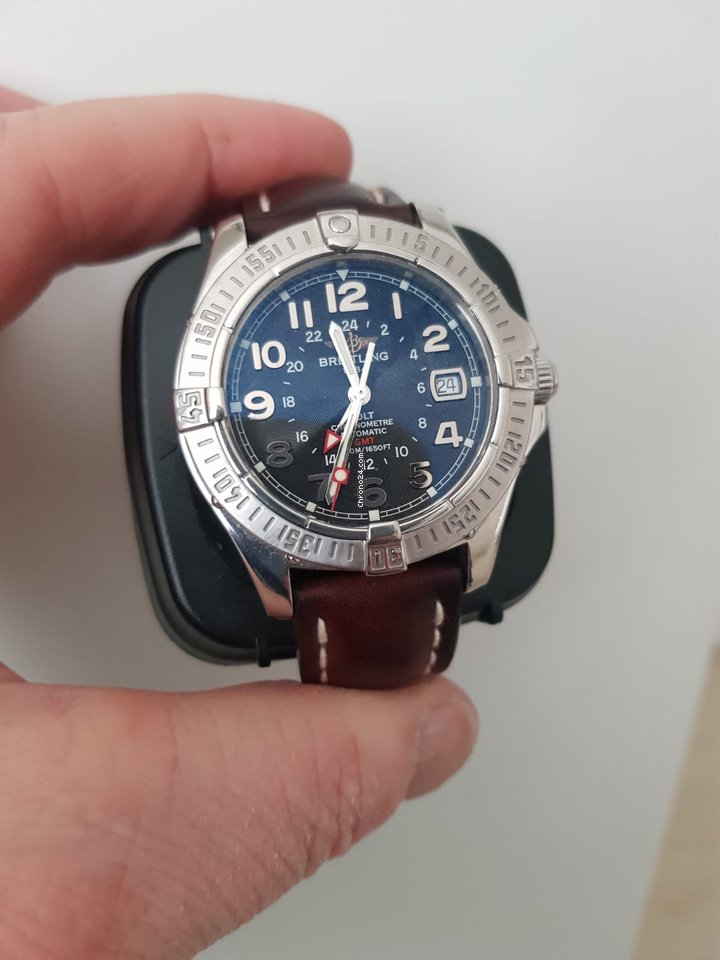 Breitling Colt GMT A32350 2009 pre-owned