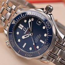 Omega Seamaster Diver 300 M Acier Bleu Sans chiffres