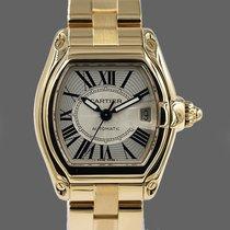 Cartier Roadster Желтое золото 37mm Cеребро